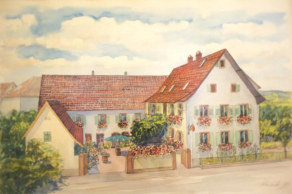 Gasthaus gemalt